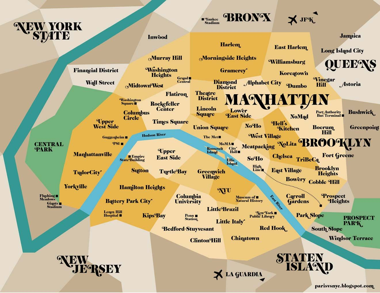 Paris Vs New York A Tally Of Two Cities Paris Vs New York