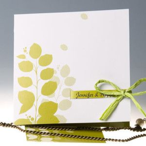 Greenery Wedding Invitations Trending for 2018 from EWI