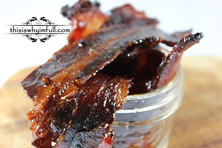 Whiskey Candied Bacon -