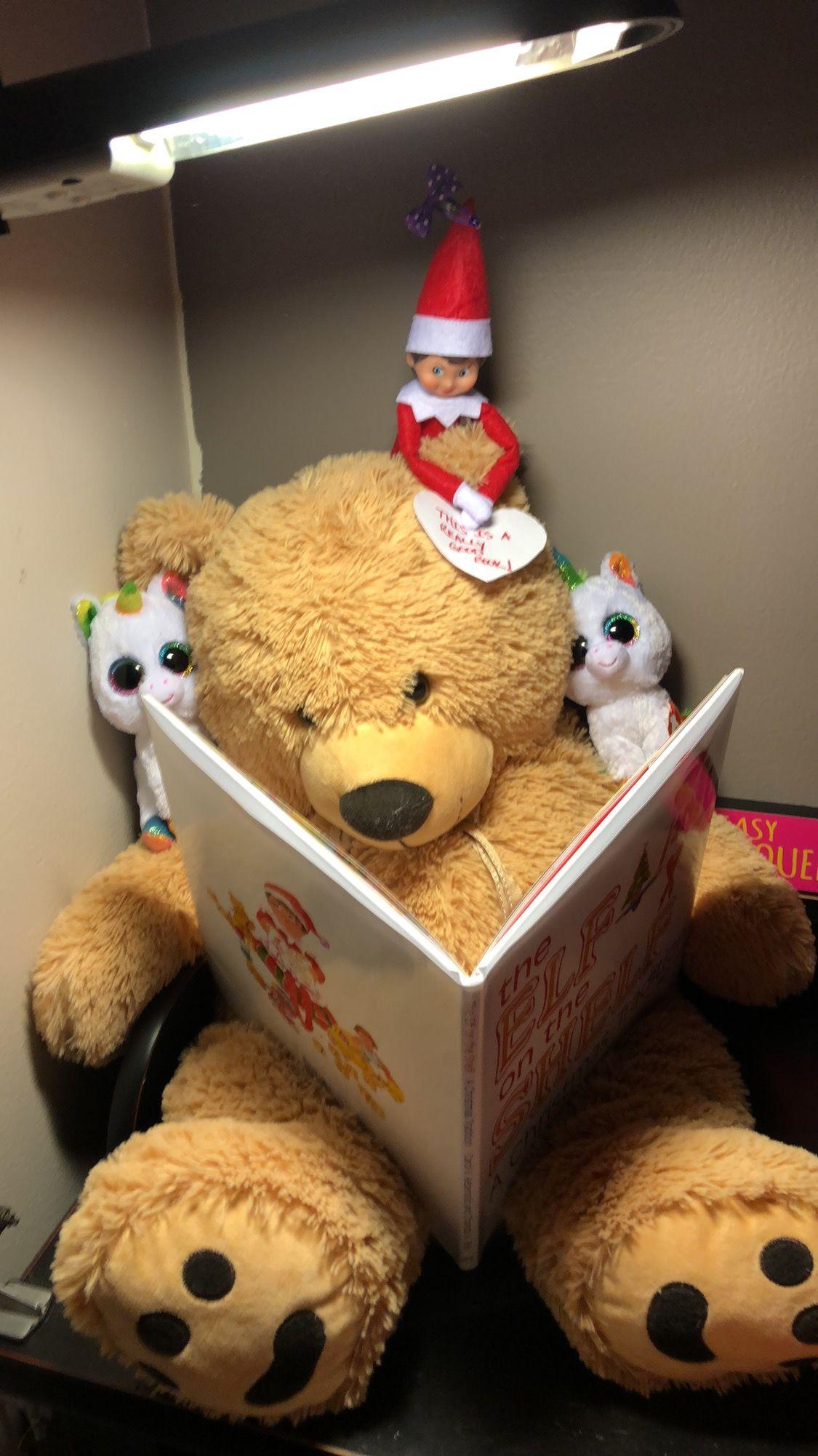 Elfontheshelf Elfontheshelfideas Elf Teddybear Books