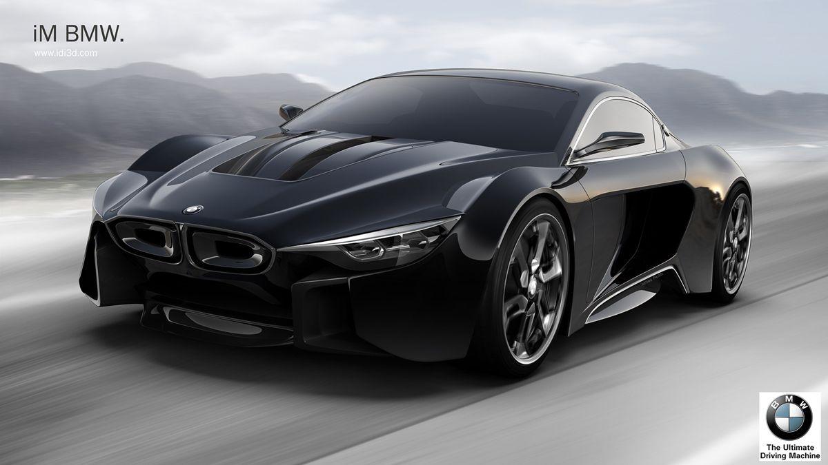 Bmw Im Study Puts The M Into Plug In Hybrid Equation Carscoops Bmw Bmw Concept Car