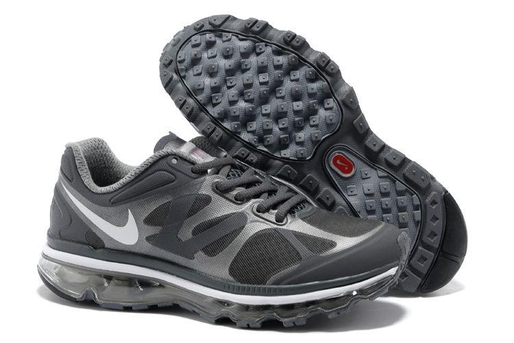 Womens Nike Air Max 2012 Dark Grey Summit White Cool Grey