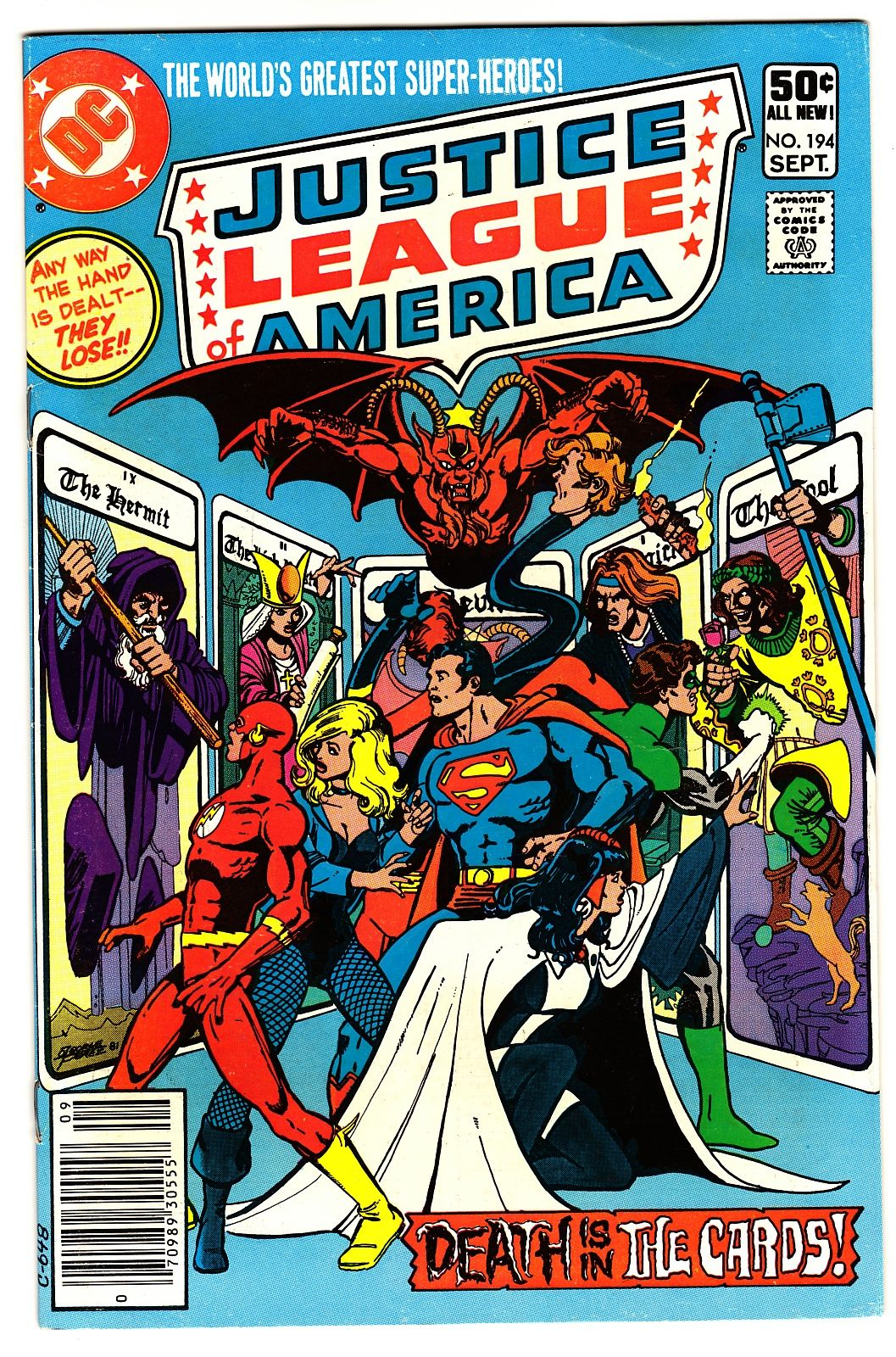 Justice League Of America 194