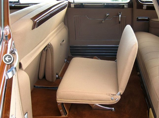 1946 Packard Custom Super Clipper 7 Penger Limo With Jump Seats Very Few Left In Captivity I Saw One Today At The Volo Car Museum Il