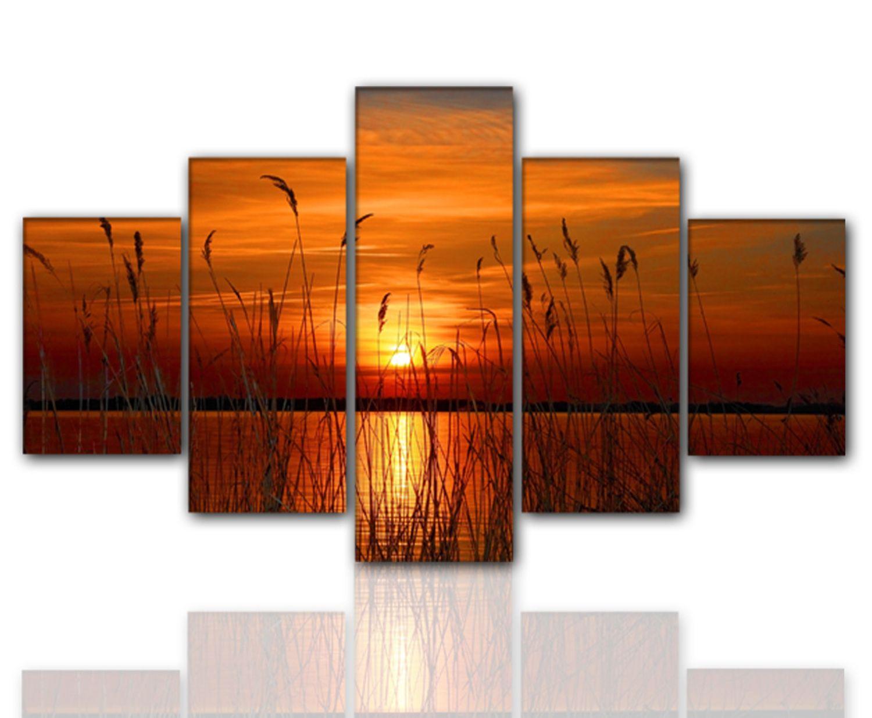 designbilder 160x80cm 5 teilig auf leinwand und keilrahmen wohnzimmer modern xxl ebay