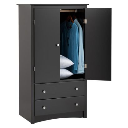 Exceptionnel Clothing Armoire   Black : Target