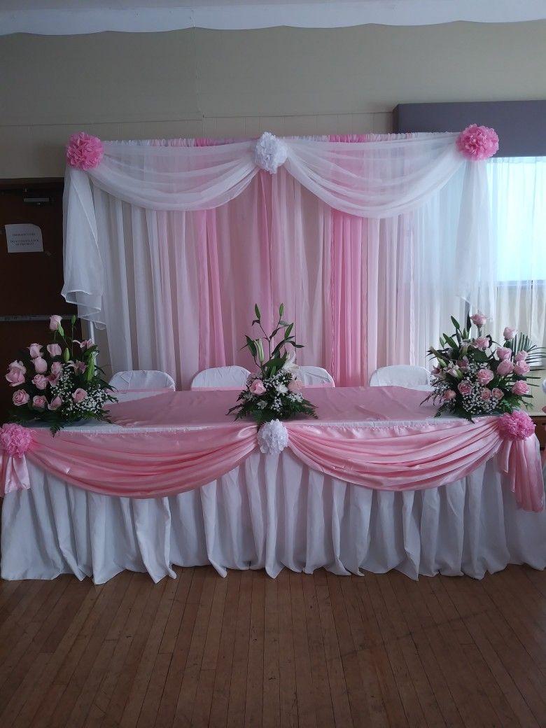 20de octubre quincea era in 2019 wedding decorations - Decoracion en cortinas ...