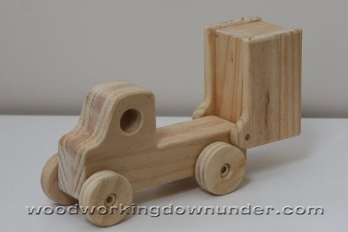 Wood Toy Making Plans : Wooden truck plans free fun to build