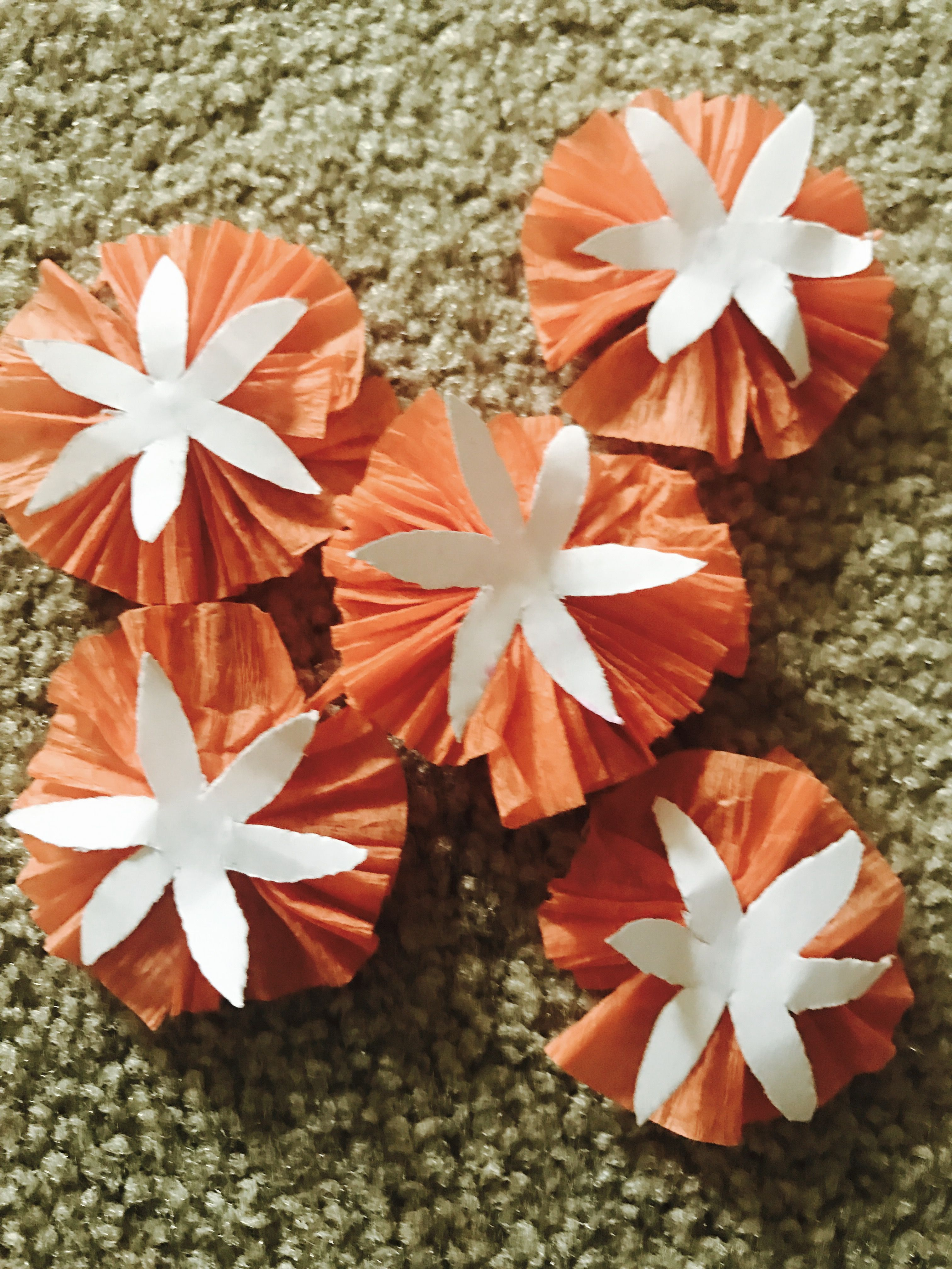 Diy Crepe Paper Flowers My World My Creations Pinterest Crepe