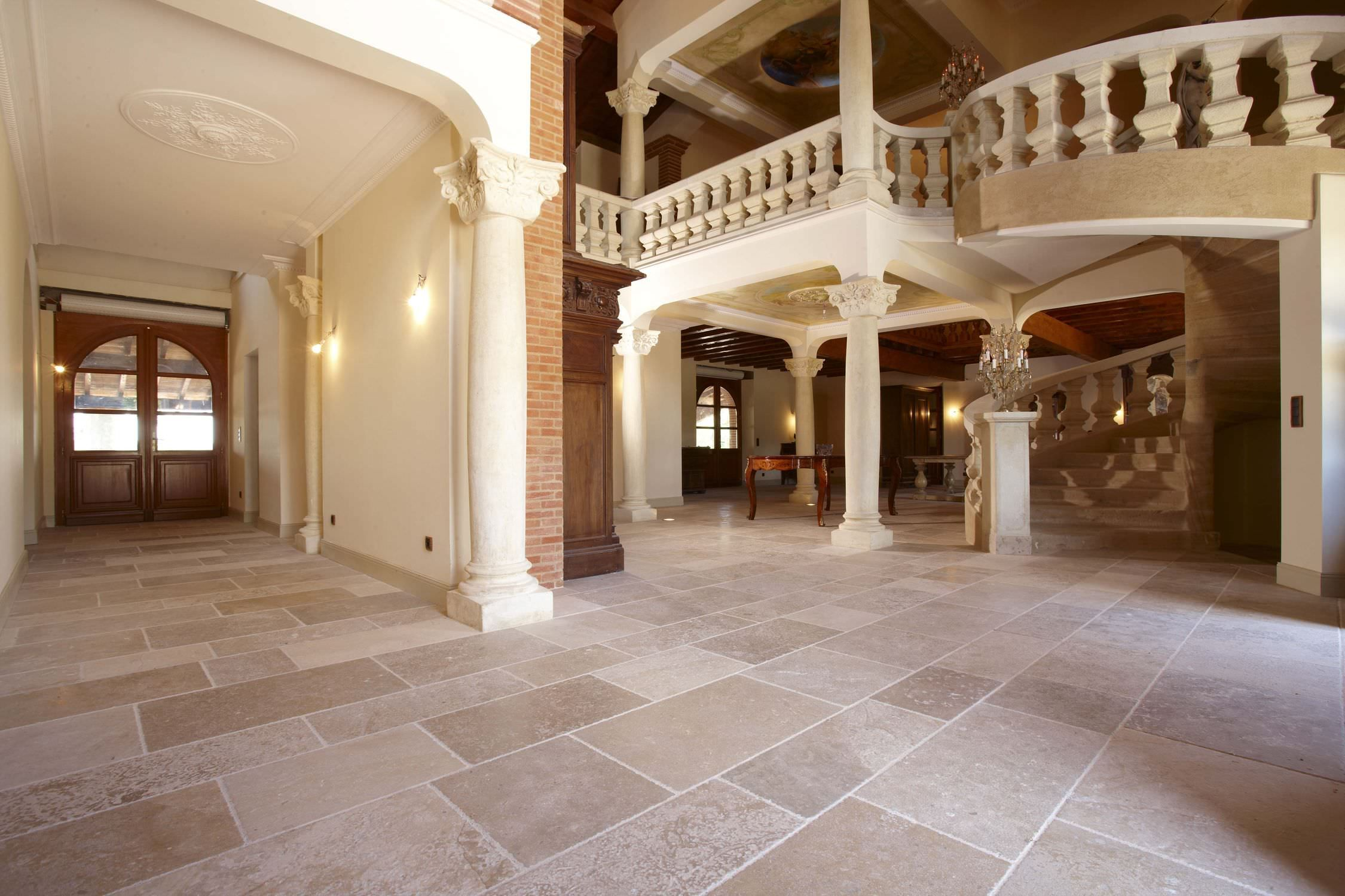 Accessories & Furniture Beautiful Cream Natural Stone Floor Tile For