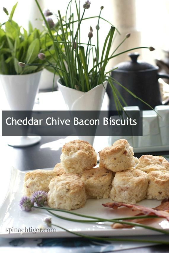 Post image for Bacon Cheddar Chive Biscuits for a Sunday ...