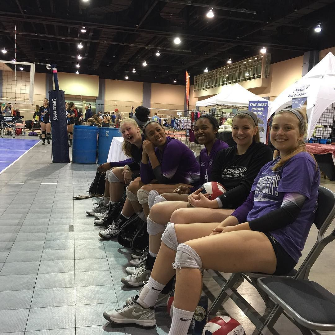 Excited To Compete This Holiday Weekend Come Down To The Convention Center For All The Volleyball You Can Handle Rvc Volleyball Clubs Volleyball Richmond