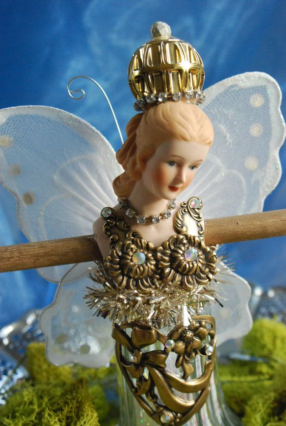 Fairy Jewelry Holder Doll by dnardidesigns on Etsy, $50.00