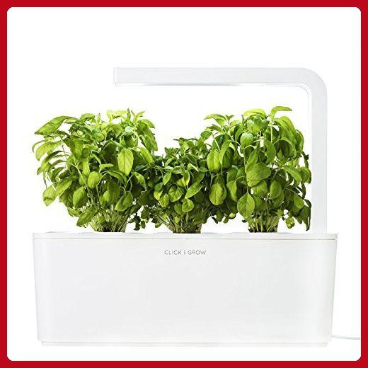 Click Grow Indoor Smart Fresh Herb Garden Kit With 3 400 x 300