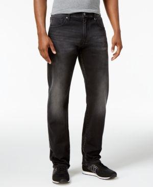 Armani Exchange Men's Relaxed Fit Black Jeans - Black 36