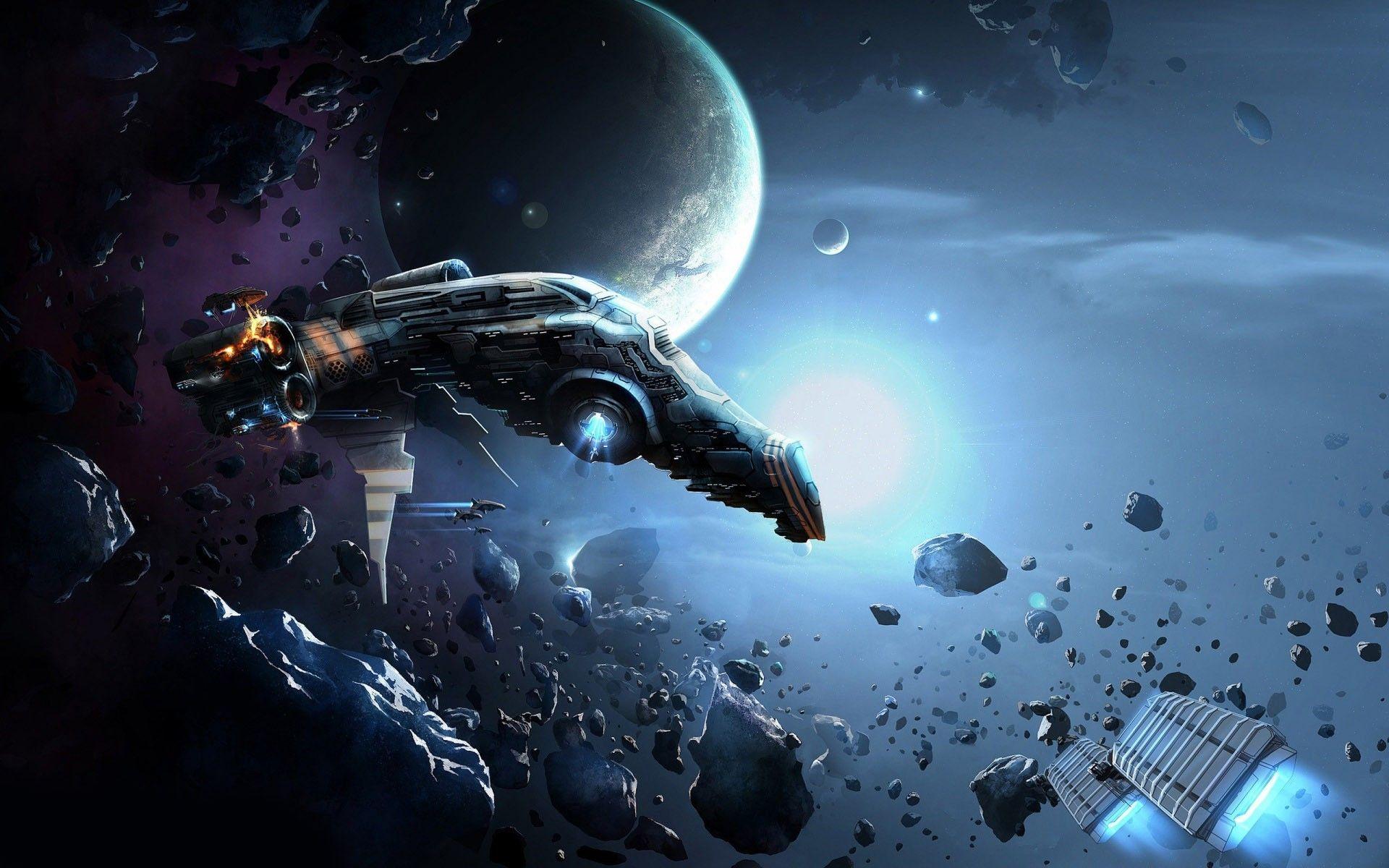 spaceship background picture wallpaper 2k1d0cxr space
