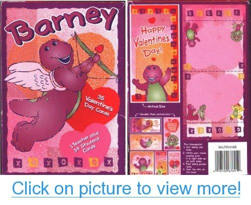 Barney 35 Valentine S Cards Barney Valentines Cards Dinosaur Valentine Cards Cards Valentines Cards