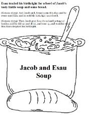 Jacob and Esau Coloring Pages | kindergarten science | Pinterest ...