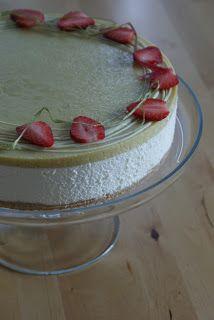 Monalisa´s cakes: Raparpericurd-valkosuklaajuustokakku