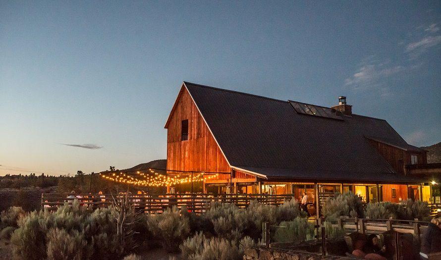 Bend Oregon Weddings Venues The Barn Brasada Ranch Wedding Locations In