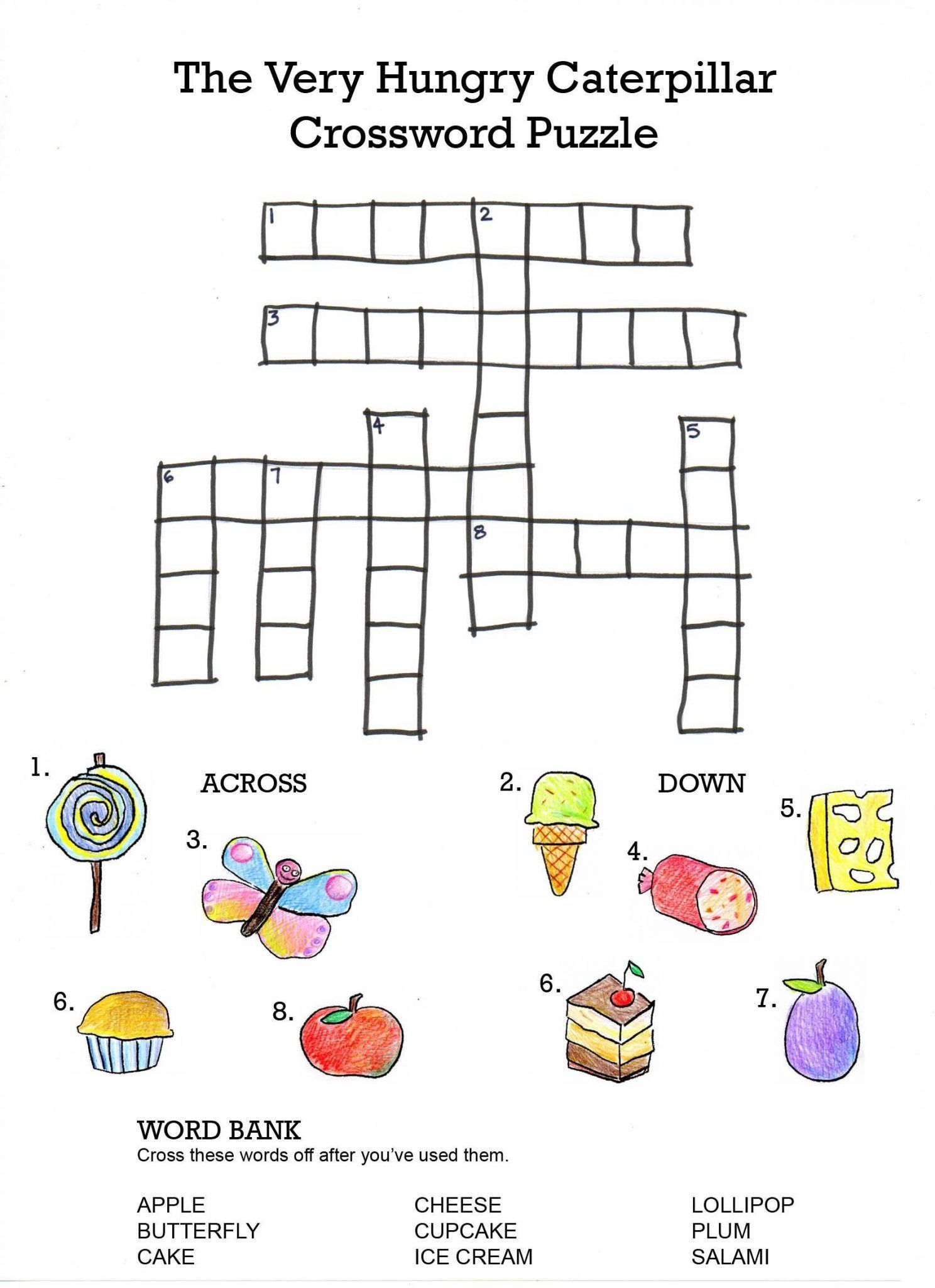 English Worksheets For Kids To Print Crossword Crossword Puzzles Puzzles For Kids [ 2048 x 1488 Pixel ]