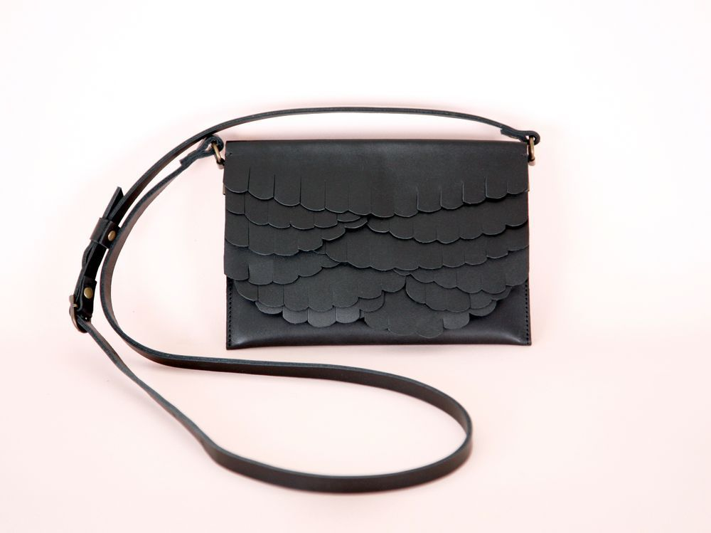 While Mini shoulder bag Black via Kuula Jylhä  Click on the