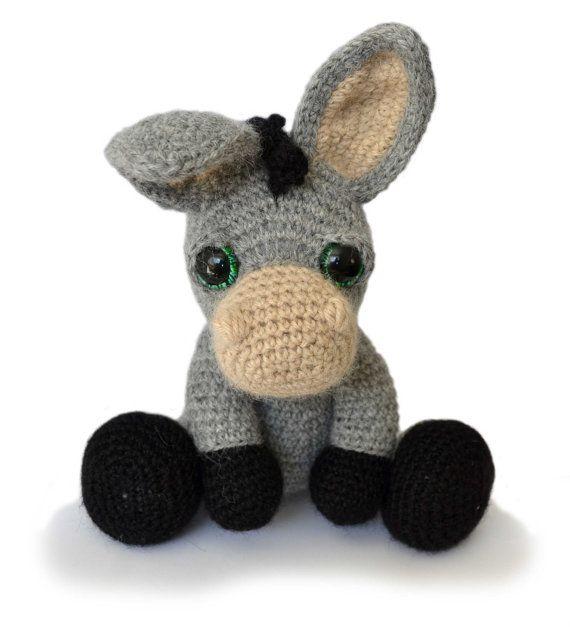 Donkey Amigurumi Crochet Pattern PDF Instant Download - Dylan ...