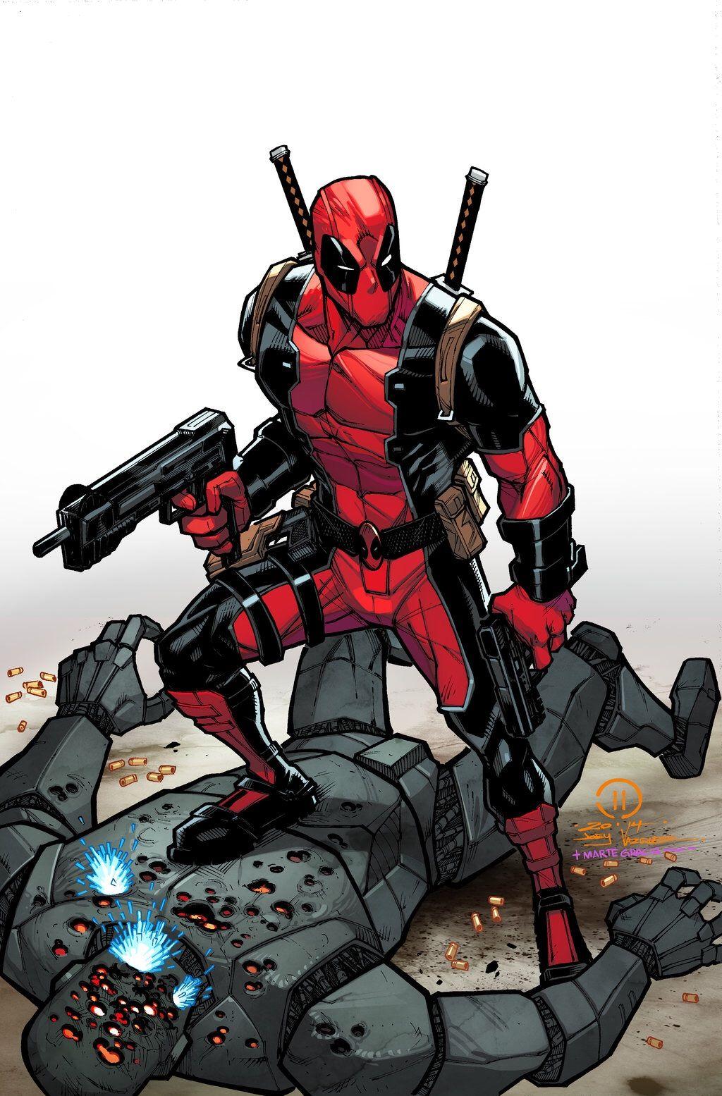 Deadpool by Joey Vazquez