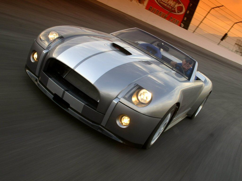 Ford Shelby Cobra A Concept Car From 2004 Concept Car Ford Shelby Cobra 2004 Ford Shelby Cobra Sports Cars Luxury Shelby Cobra