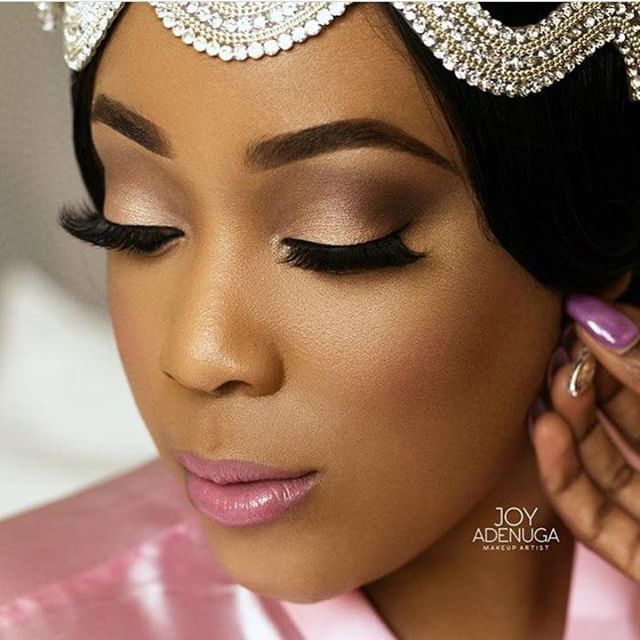 Everything! #AbsoluteBrilliant Makeup by @joyadenuga #9naijaBrides ...