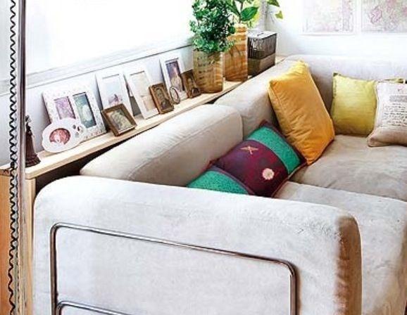 Consola estrecha entre sof y ventana ocultando el radiador decor ideas diy pinterest - Consola estrecha ...
