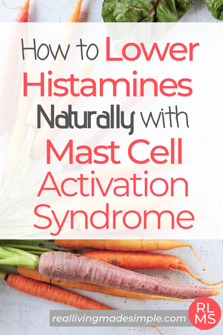 How To Naturally Lower Histamines With Mast Cell Activation Syndrome In 2021 Mast Cell Activation Syndrome Mast Cell Low Histamine Diet