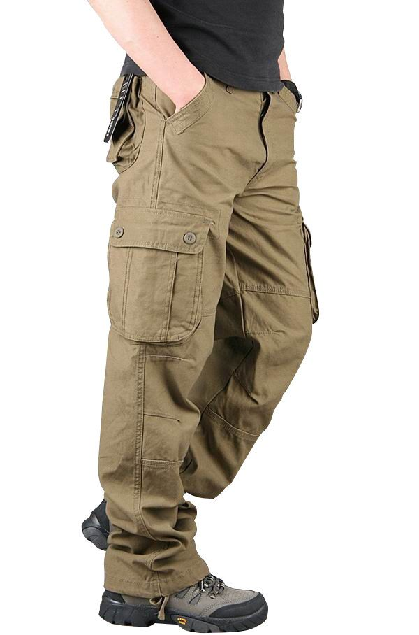 Full Blue Big /& Tall Mens Cargo Pants 100/% Cotton