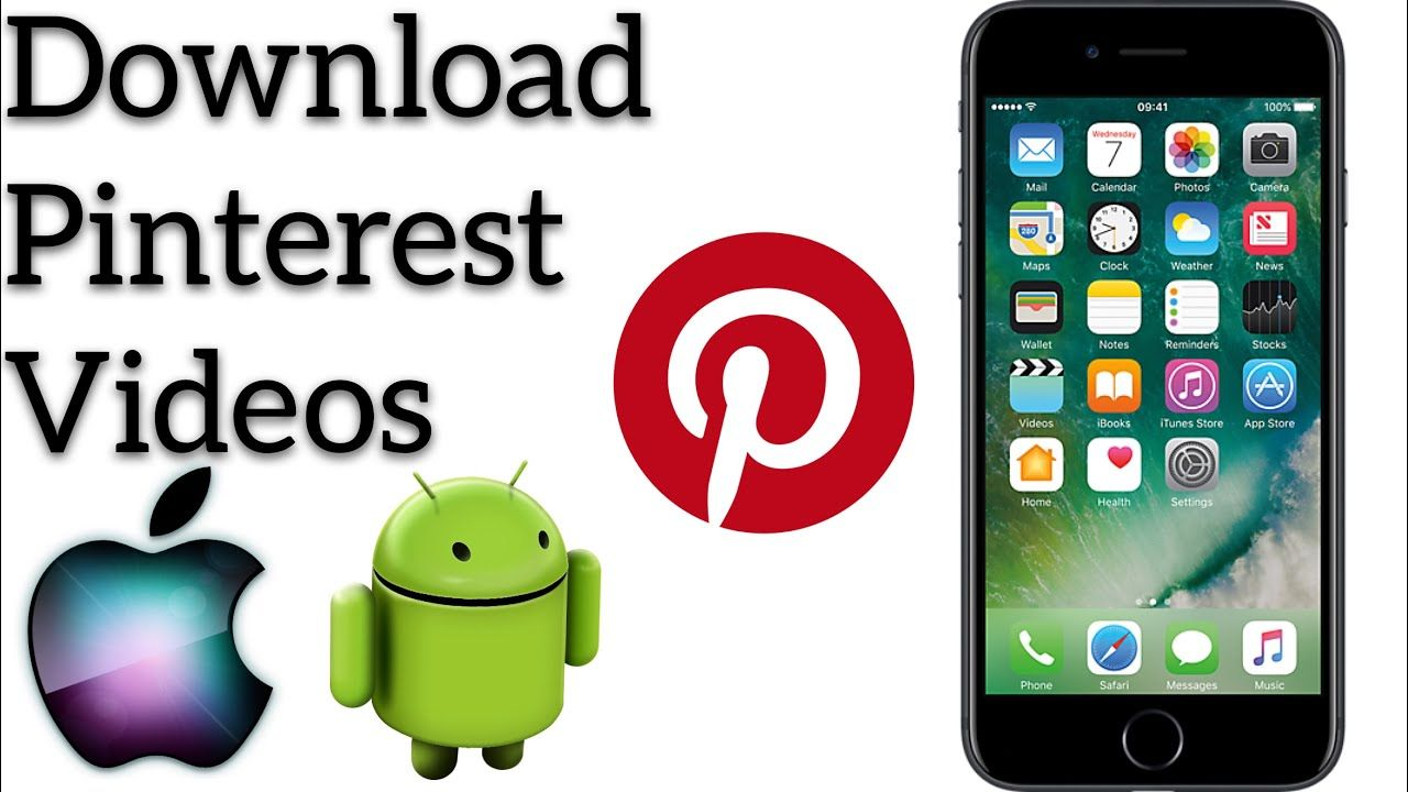 How to download pinterest video on iphone, save pinterest