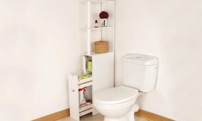 Sourcydis Deal Du Jour Groupon Rangement Toilette Meuble Rangement Rangement