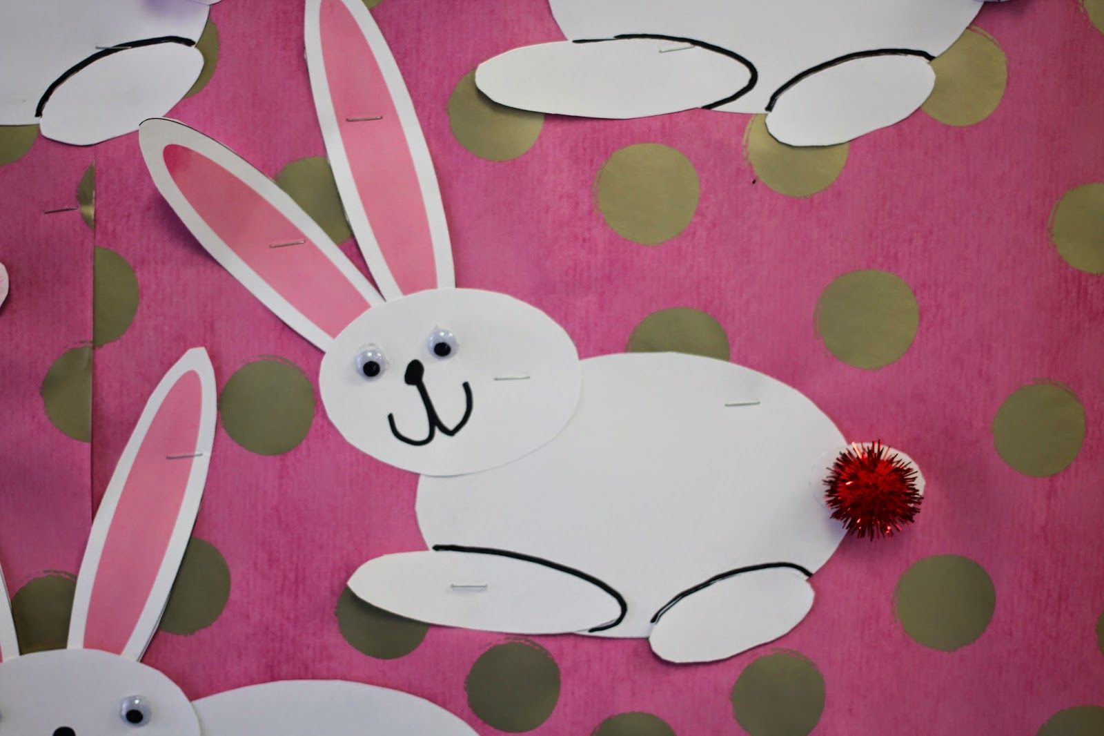 Using Ovals To Make Bunny Rabbits Great Shape Activity As Well As Comparisons Fine Motor