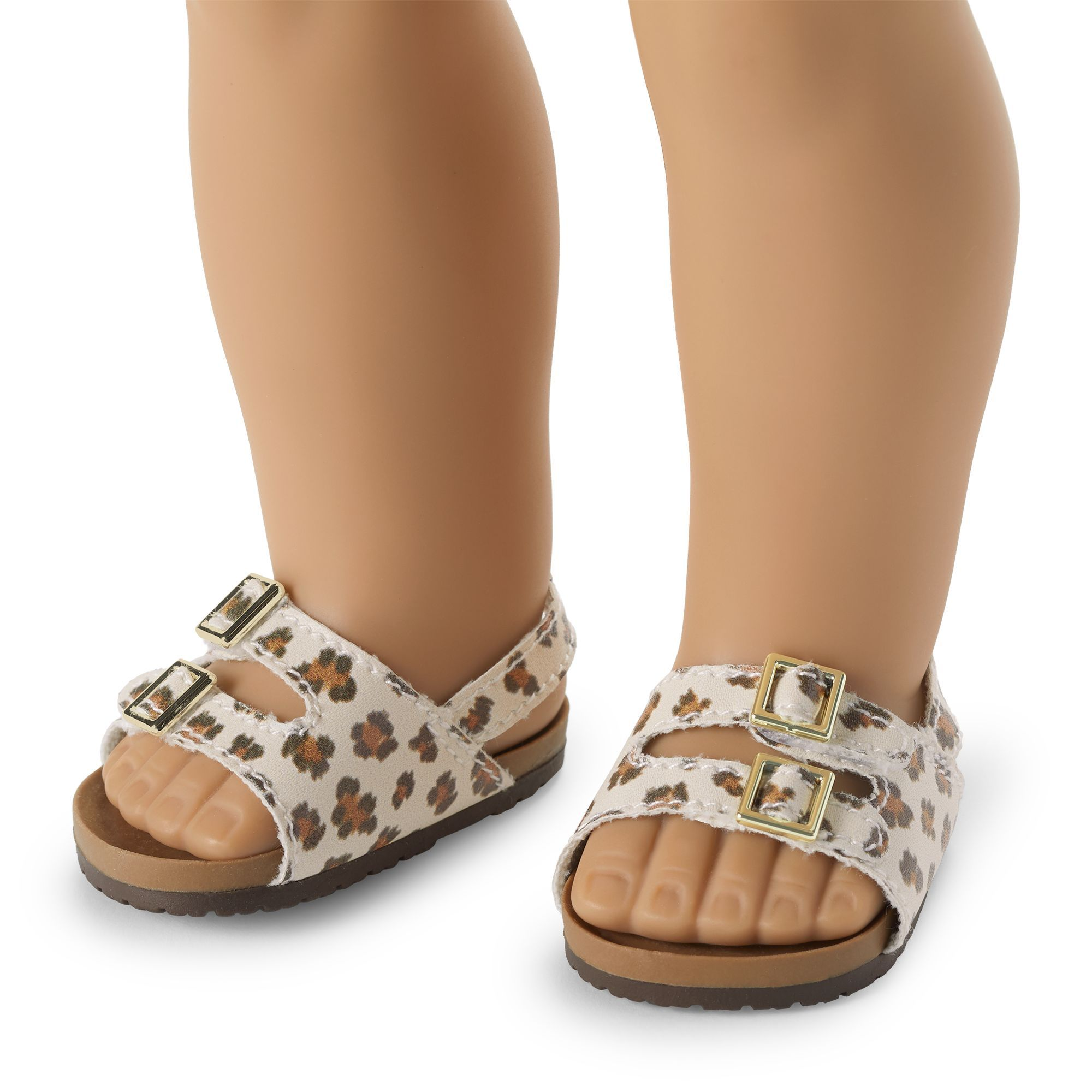 Sandals New For American Girl Doll Black Sandals Accessories Clothes Shoes