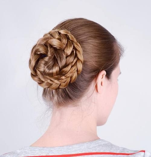45 Pretty Ideas for Casual and Formal Bun Hairstyles | Bun hairstyles for long hair, Bun ...