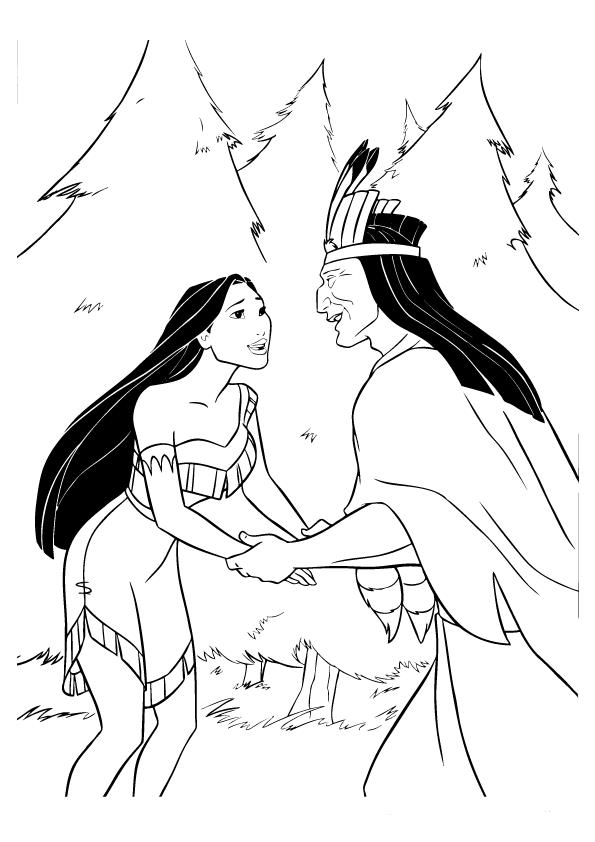 Coloring Pages   Pocahontas   Dibujos, Historia
