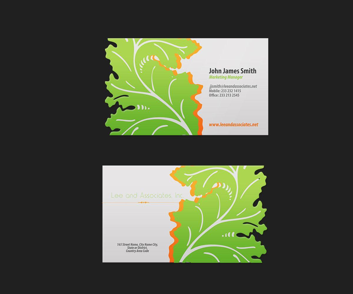 business card landscape architect Google Work business