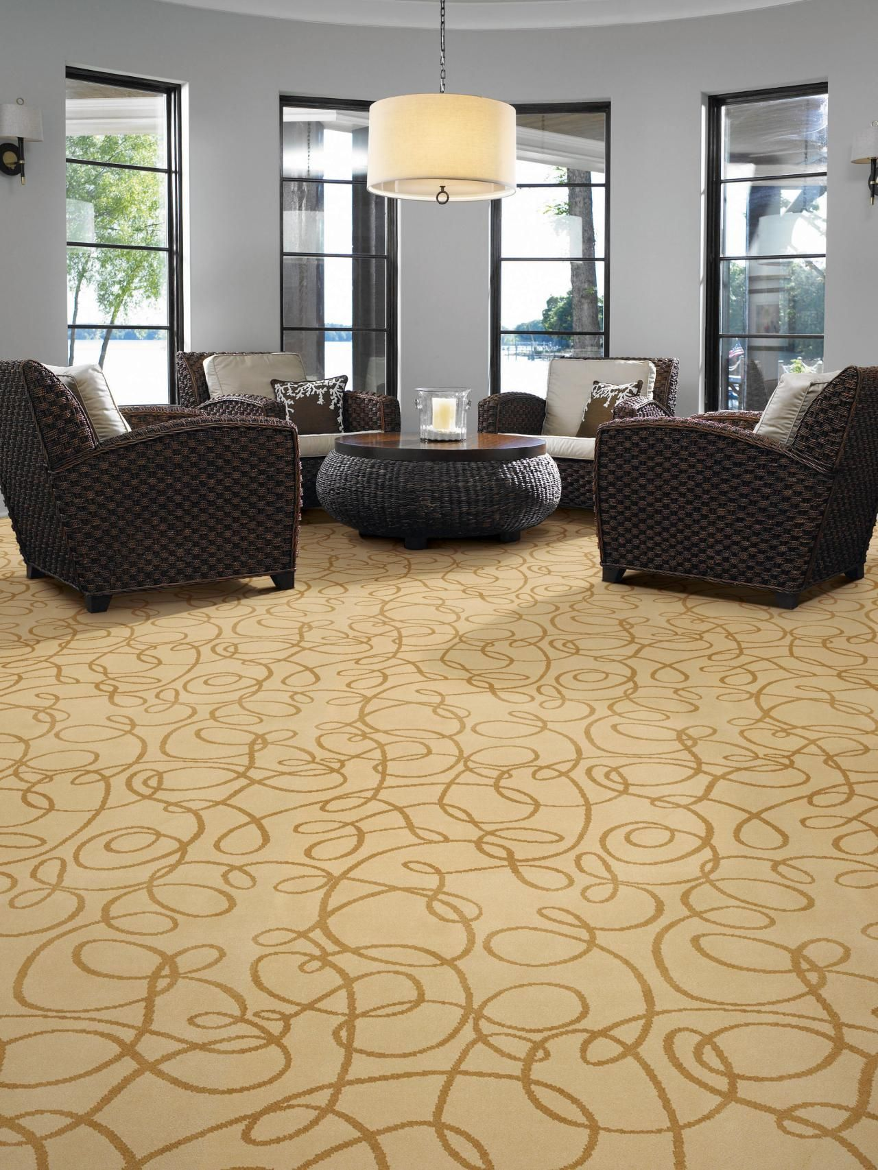 Carpet Floors | Patterned carpet, Sitting rooms and Natural light