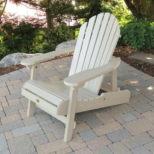Highwood Folding U0026 Reclining Curved Back Adirondack Chair   Rocking  Furniture