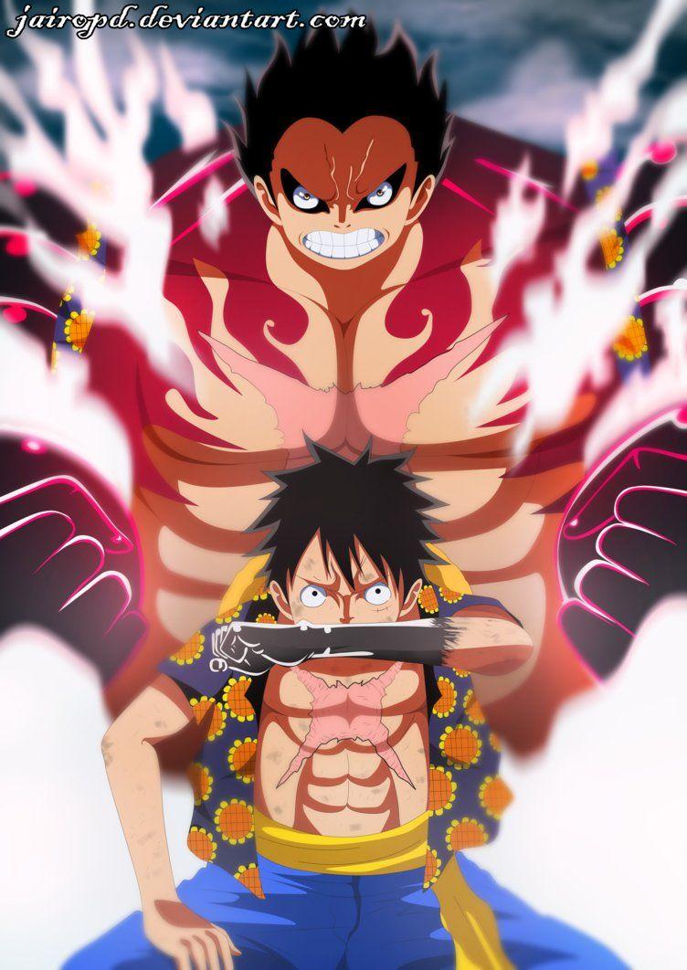 Gear4 Onepiece Wallpapers Animasi Gambar Manga Seni Manga