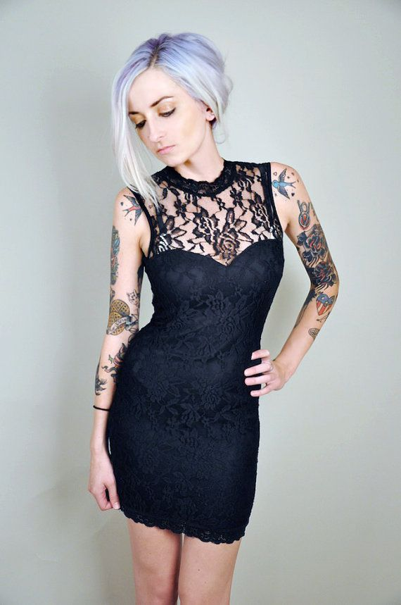 b3e7c544acb Black Lace Dress