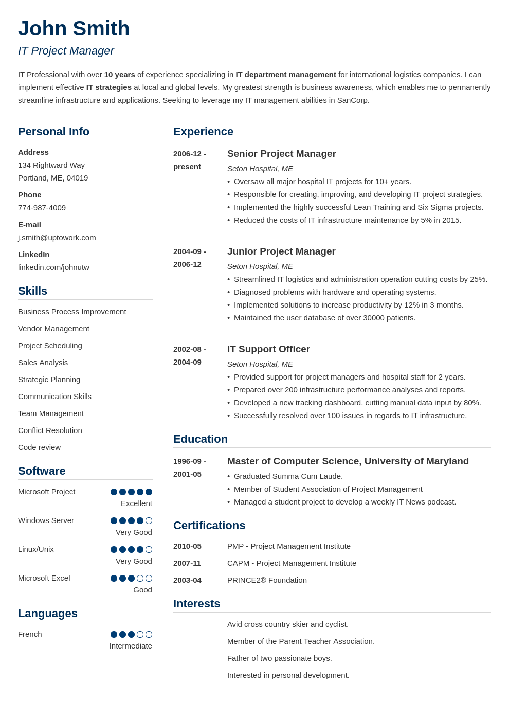 Professional Resume Template Simple Resume Template Word Resume Template Professional Best Resume Template