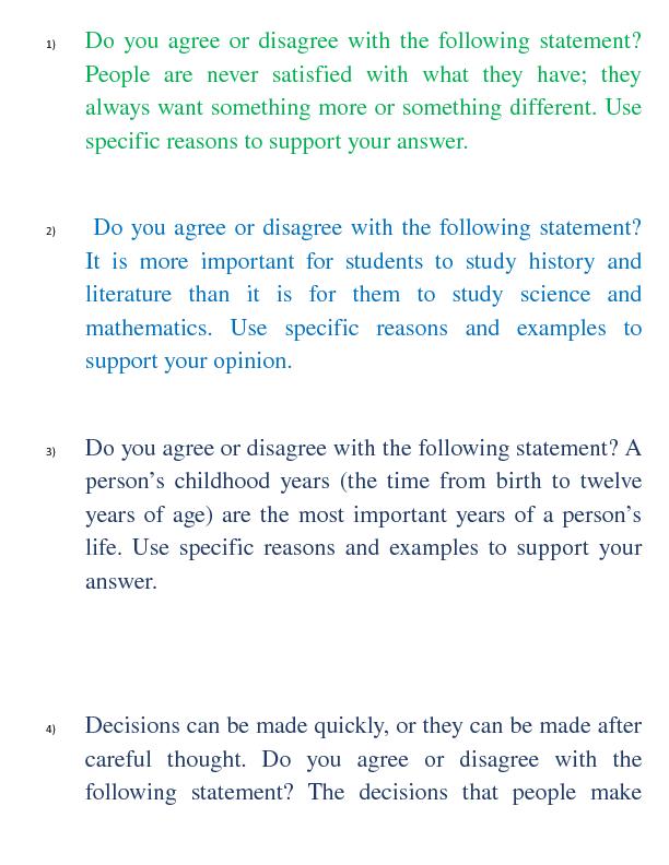Actividad para dar opiniones