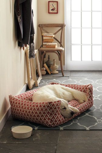 and a cute little dog bed for my corgi, obviously :D