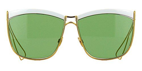 1d9d065fbf Christian Dior Sunglasses SO ELECTRIC 266DJ White Gold Frame Green Lens --  Continue to the product at the image link.