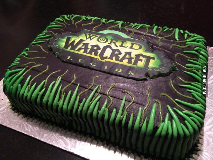 торт варкрафт фото звездочка