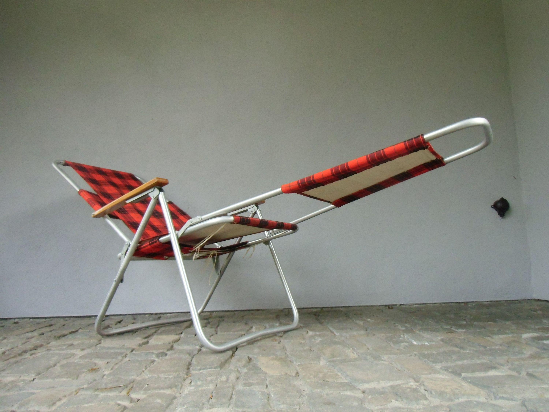 Folding Chair Garden Lounger From The 60 70s Original Ddr Camping Folding Lounger Vintage Garten Liege Garden Camping Chair Camping Chair Folding Chair Chair